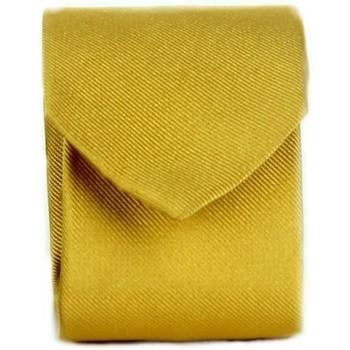 textil Herre Slips og accessories Michi D'amato CRAVATTA 002 Yellow