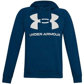 textil Herre Sweatshirts Under Armour Rival Fleece Big Logo HD Flåde