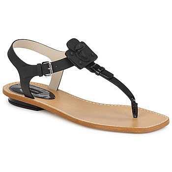 Sko Dame Sandaler Marc Jacobs CHIC CALF Sort
