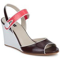 Sko Dame Sandaler Marc Jacobs VOGUE GOAT BORDEAUX / Pink