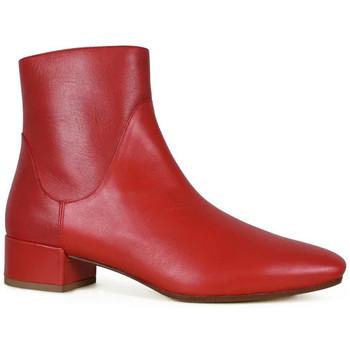 Sko Dame Høje støvletter Francesco Russo  Rød