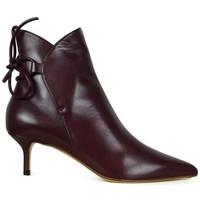 Sko Dame Støvler Francesco Russo  Bordeaux