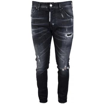 textil Herre Smalle jeans Dsquared  Sort