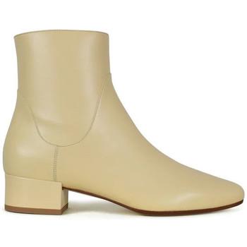 Sko Dame Støvler Francesco Russo  Beige