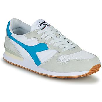 Sko Herre Lave sneakers Diadora CAMARO Blå / Hvid