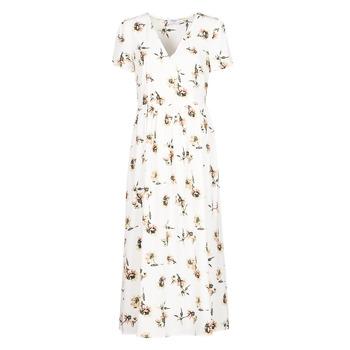 textil Dame Lange kjoler Betty London OFRI Hvid