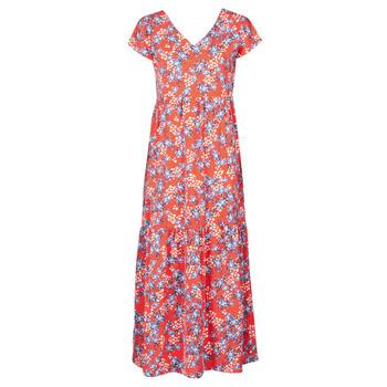 textil Dame Lange kjoler Betty London ODE Rød / Flerfarvet