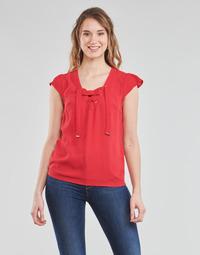 textil Dame Toppe / Bluser Moony Mood OPAK Rød