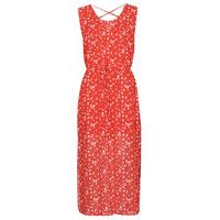 textil Dame Lange kjoler Moony Mood OUPLA Rød
