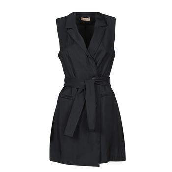 textil Dame Korte kjoler Moony Mood OLALA Sort
