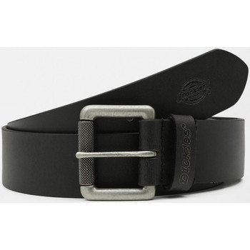 Accessories Herre Bælter Dickies South shore leather belt Sort
