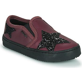 Sko Pige Lave sneakers Geox J KALISPERA FILLE Violet