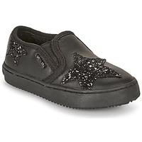 Sko Pige Lave sneakers Geox J KALISPERA FILLE Sort
