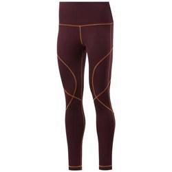 textil Dame Leggings Reebok Sport Wor Myt Stitch Tight Bordeaux