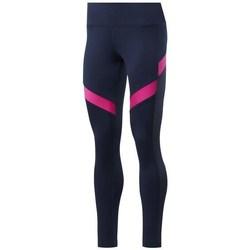 textil Dame Leggings Reebok Sport Wor Mesh Tight Flåde, Pink