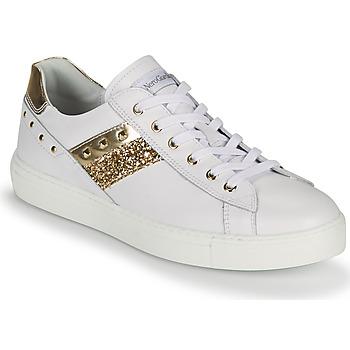 Sko Dame Lave sneakers NeroGiardini DRILLA Hvid / Guld