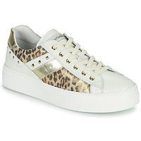 Sko Dame Lave sneakers NeroGiardini MANO Hvid / Leopard