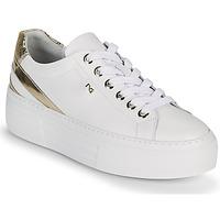 Sko Dame Lave sneakers NeroGiardini LAITO Hvid / Guld