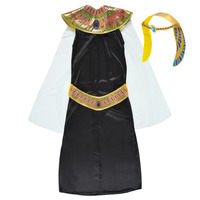 textil Pige Forklædninger Fun Costumes COSTUME ENFANT PRINCESSE EGYPTIENNE Flerfarvet