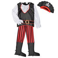 textil Dreng Forklædninger Fun Costumes COSTUME ENFANT PIRATE TOM Flerfarvet
