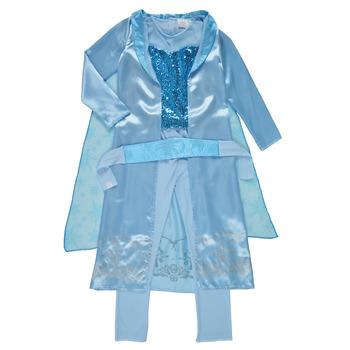 textil Pige Forklædninger Fun Costumes COSTUME ENFANT PRINCESSE DES NEIGES Flerfarvet