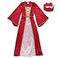 textil Pige Forklædninger Fun Costumes COSTUME ENFANT REINE DE LA RENAISSANCE Flerfarvet