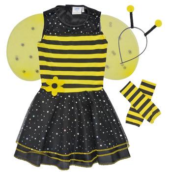 textil Pige Forklædninger Fun Costumes COSTUME ENFANT BEE BEE Flerfarvet