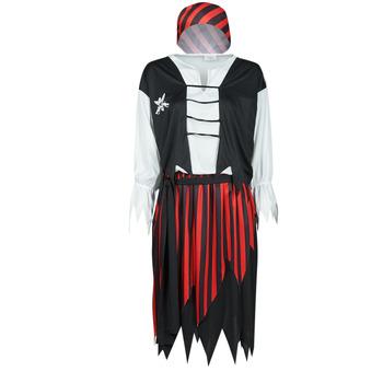 textil Dame Forklædninger Fun Costumes COSTUME ADULTE PIRATE SUZY Flerfarvet