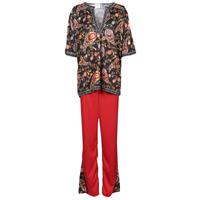 textil Dame Forklædninger Fun Costumes COSTUME ADULTE FLOWER BEETLE Flerfarvet