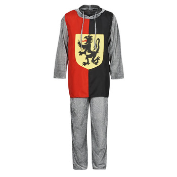 textil Herre Forklædninger Fun Costumes COSTUME ADULTE SIR GAWAIN Flerfarvet