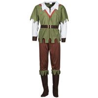 textil Herre Forklædninger Fun Costumes COSTUME ADULTE FOREST HUNTER Flerfarvet
