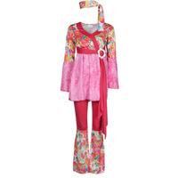 textil Dame Forklædninger Fun Costumes COSTUME ADULTE HAPPY DIVA Flerfarvet