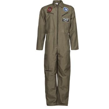 textil Herre Forklædninger Fun Costumes COSTUME ADULTE PILOTE JET Flerfarvet
