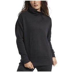 textil Dame Sweatshirts Reebok Sport TE Textured Warm Coverup Sort