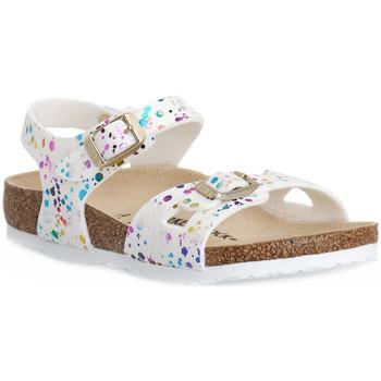Sandaler til børn Birkenstock  RIO CONFETTI WHITE CAL S