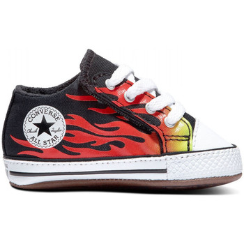 Sko Børn Sneakers Converse Chuck taylor all star cribster mid Sort