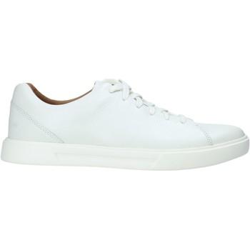 Sko Herre Sneakers Clarks 140164 hvid