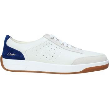 Sko Herre Sneakers Clarks 152885 hvid
