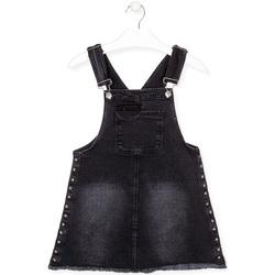 textil Pige Buksedragter / Overalls Losan 024-7000AL Sort