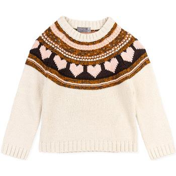 textil Pige Pullovere Losan 026-5001AL hvid