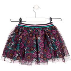 textil Pige Nederdele Losan 026-7026AL Grå