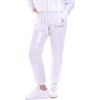 textil Dame Træningsbukser La Carrie 092M-TP-421 hvid