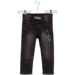 textil Børn Lige jeans Losan 025-6029AL Sort