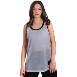 textil Dame Toppe / T-shirts uden ærmer Converse 10007415 Grå