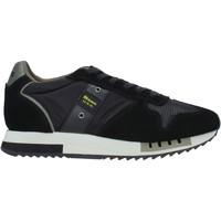 Sko Herre Sneakers Blauer F0QUEENS01/CAM Sort