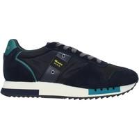 Sko Herre Sneakers Blauer F0QUEENS01/CAM Blå