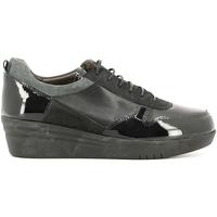 Sko Dame Lave sneakers Grunland SC2365 Sort