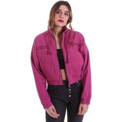 textil Dame Jakker Karl Kani KRCKKWQ32042DPNK Violet