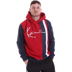 textil Herre Sweatshirts Karl Kani KRCKKMQ32005DRED Rød