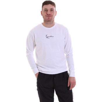 textil Herre Sweatshirts Karl Kani KRCKKMQ22002WHT hvid